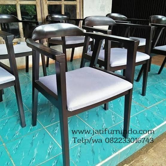 Kursi Cafe Makan Jati Terbaru Minimalis Jati Furnindo